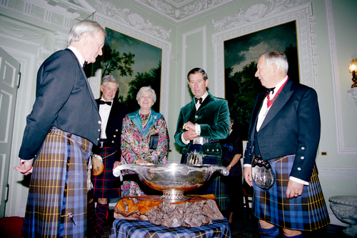 HRH The Prince of Wales 1996
