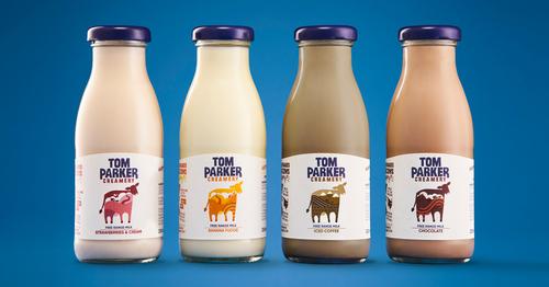 Tom Parker Creamery new glass bottles