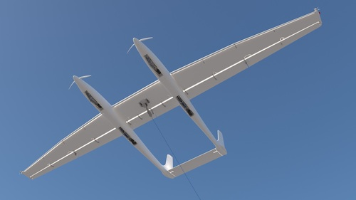 Ampyx airborne wind energy systems