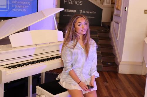 Amber T Yamaha Music London Ambassador