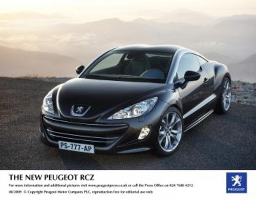 New Cars - Peugeot RCZ Coupe