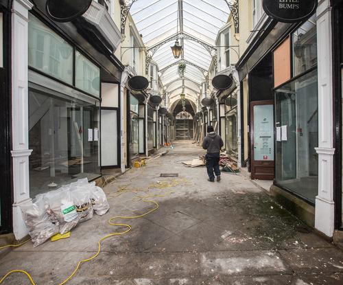 Co-op owned Dewsbury Arcade