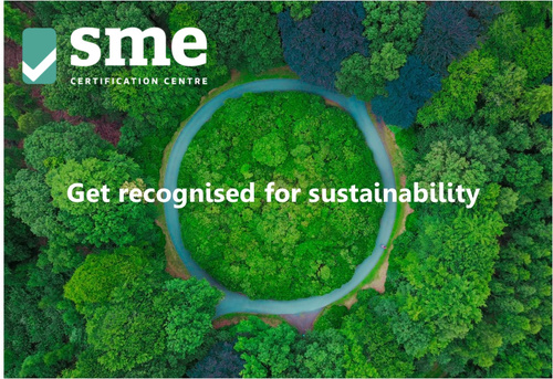 Get recognised for sustainability