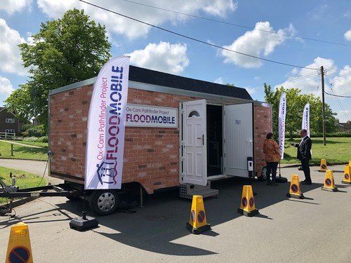 The Floodmobile at a PFR event