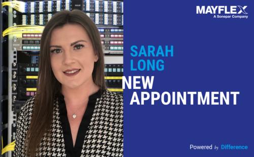 Sarah Long Joins Mayflex