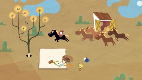 Still from Mironins animation