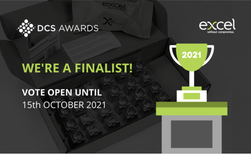 Excel - Finalist in the DCS Awards 2021
