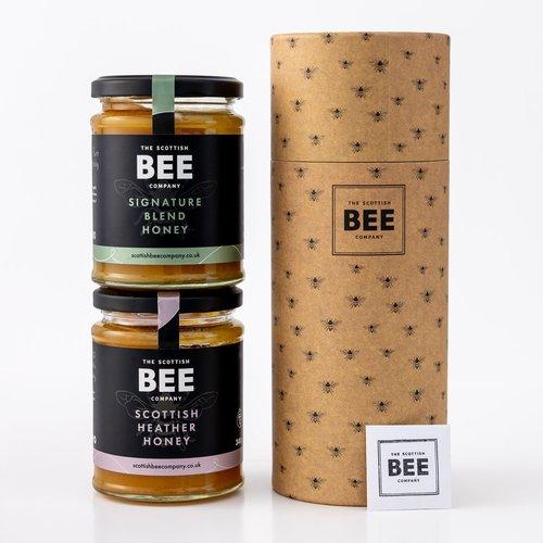 Pure Scottish Honey Duo Christmas Gift
