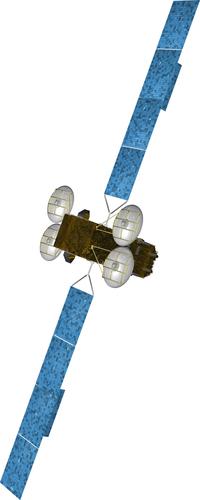 Artist's impression of Eutelsat's KA-SAT