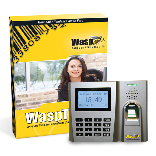 Wasptime - shows the biometric version