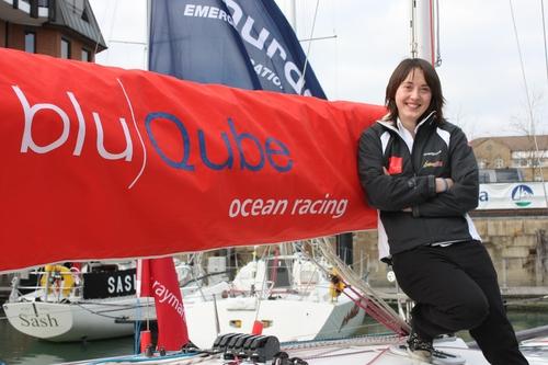 Katie Miller aboard bluQube