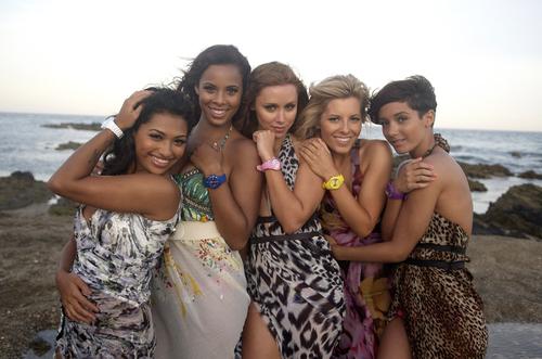 Vanessa, Rochelle, Una, Mollie, Frankie
