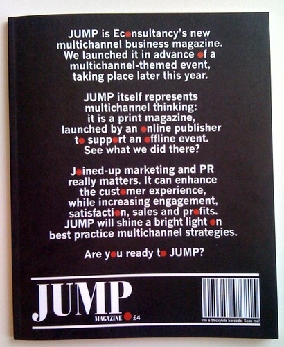 Cover of JUMP magazine, first issue