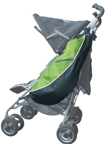 Hamster buggy bags side view