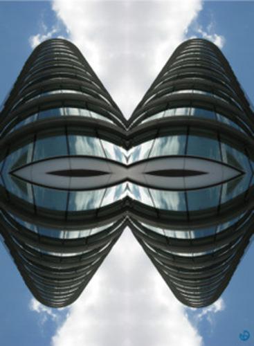 'Towering' by Kate Cledwyn (102 x 76.5cm