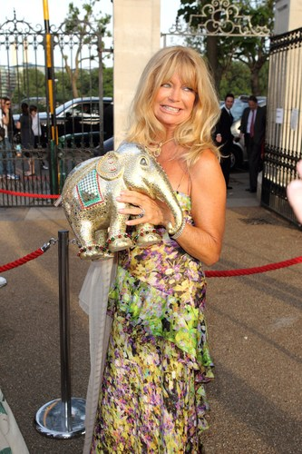 Goldie Hawn at Elephant Parade Auction