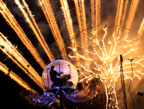 Full Circle - fireworks and live music