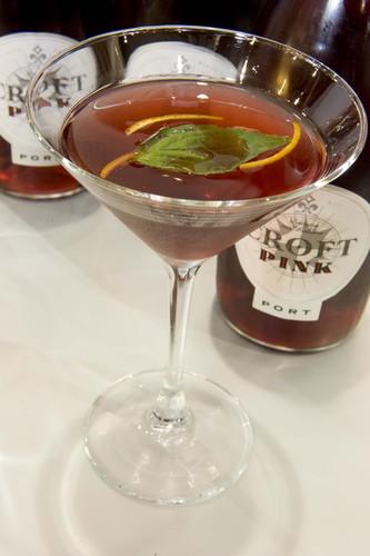 Croft Pink cocktail
