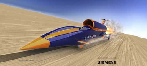 Bloodhound Supersonic car image