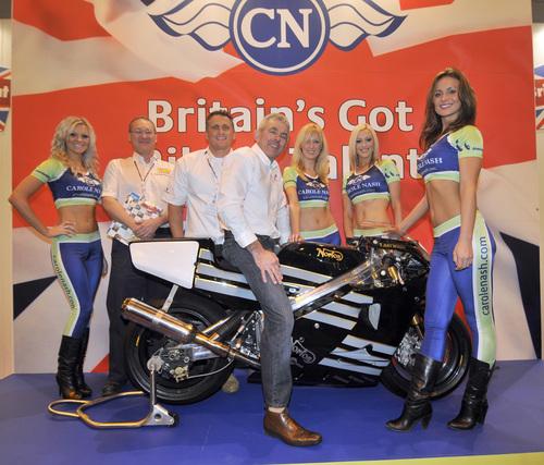 2009 winner Tony Haywood's Norton NRS
