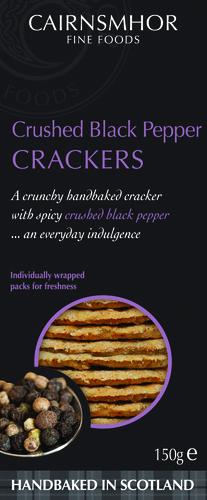 2star Gold Crushed Black Pepper Cracker