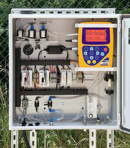 Low cost, fixed biogas monitor: GA3000