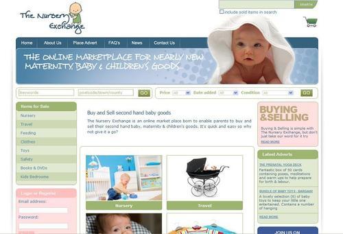 The Nursery Exchange web site