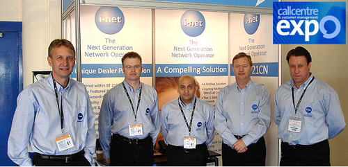 Challenge the I-Net Team at CC EXPO