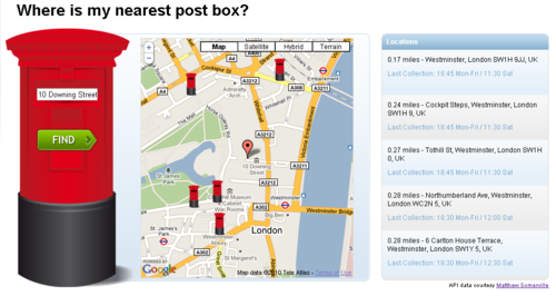 Post Box Finder