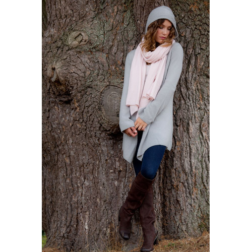 Cashmere Cardigan and scarf