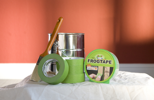 Prep before you paint with Frog Tape