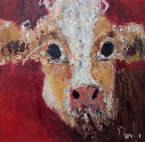You too can paint a cow!