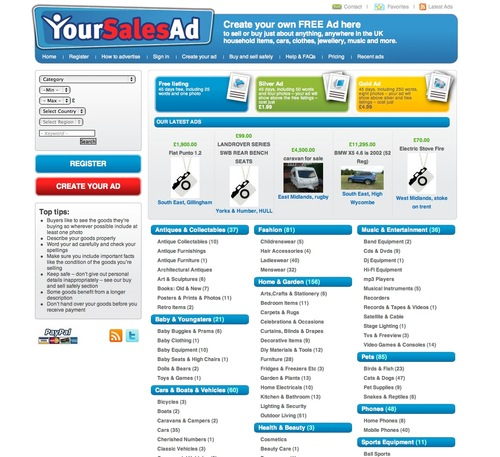 Free online classified ads
