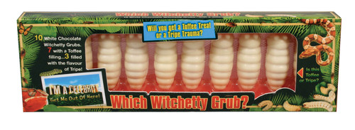Which Witchetty Grub? Bush tucker trial!