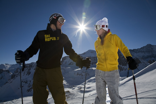 Skis, sticks, boots & helmet from €10