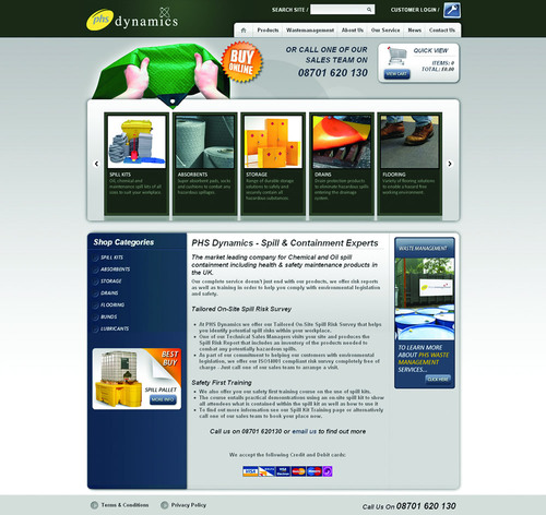 PHS Dynamics Unveil New Website