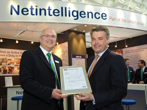 iomart receives UK Kitemark