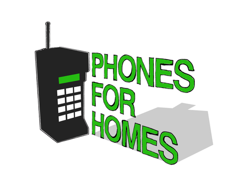 Phones For Homes logo