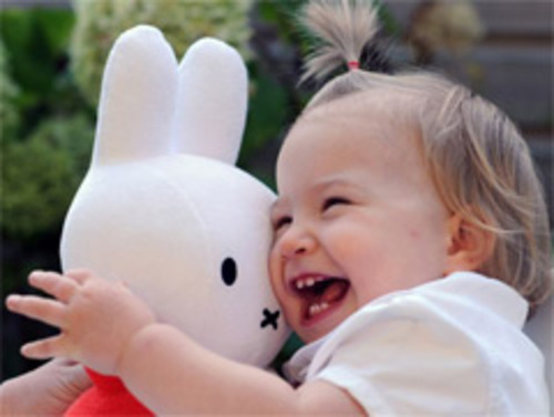 A young Miffy fan