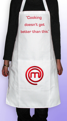 Dress to impress in a MasterChef apron!