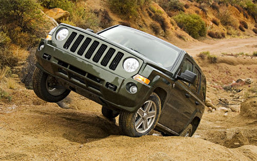 The Jeep Patriot in action!