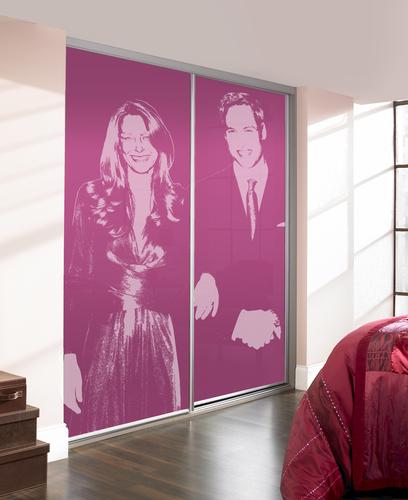 Kate & Will Royal Wedding Wardrobe Doors