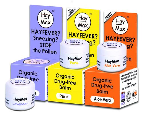 HayMax™ balm for hayfever sufferers