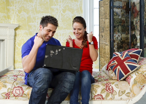 Brits Bingo Launch: Gavin Henson & Katya
