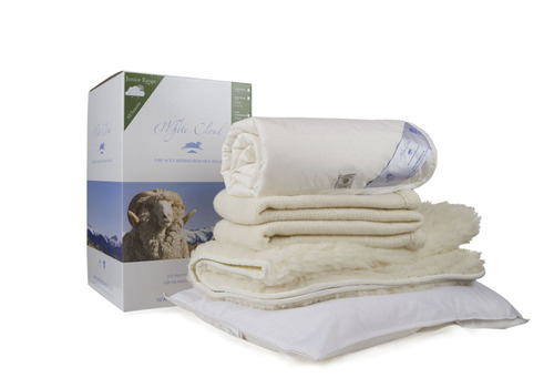 White CLoud Junior Wool Bedding Pack