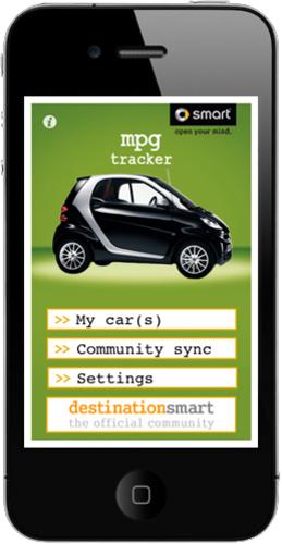 Smart car MPG app