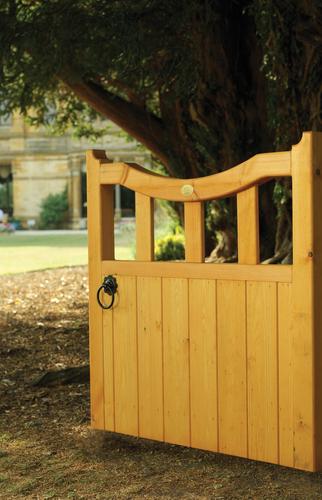 Hand Crafted Wooden Garden Gate