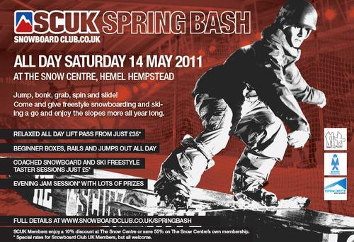 SCUK Spring Bash @ The Snow Centre