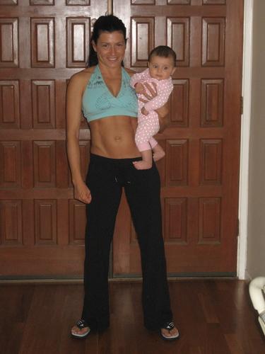 4 Months Post Baby after Kettlebells