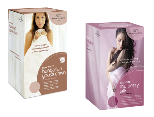 New Hungarian and Mulberry Silk Duvets